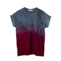 Buy Black and Red Dip Dye T-shirt at Masha Apparel for only $28.00