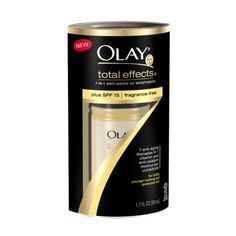 Olay Total Effects UV Facial Cream - 1.7 oz..    I've tried a lot of face creams with spf... spent a lot of money.  But for my oily sensitive skin- this has been my favorite by far.  Best daily moisturizer.