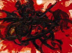 'Work II' (1958) by Kazuo Shiraga
