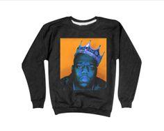 Notorious BIG Sweatshirt | Biggie Sweatshirt | Hip Hop Sweaters
