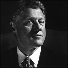 Bill Clinton by Nigel Parry