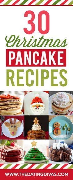 Christmas pancakes!!!! So fun!