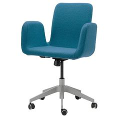 US - Furniture and Home Furnishings PATRIK Swivel chair IKEA You sit comfortably since the chair is adjustable in height.