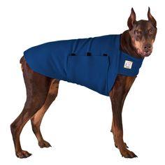 Doberman Pinscher Tummy Warmer Dog Vest (Navy Blue)