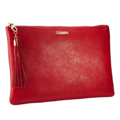 GiGi New York Uber Clutch in red...I love everything Graphic Image and GiGi New York have to offer. Classic and extremely well-made.