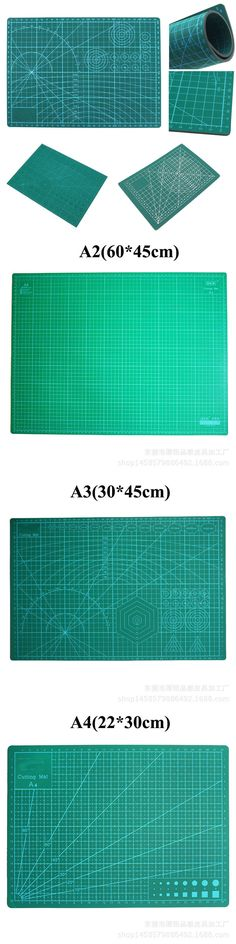 Efficient A4 Grid Lines Cutting Mat Plastic Cutting Pad Craft Card Fabric Leather Paper Board Handmade Diy Paper Card Cutting Mat Plate Cutting Supplies