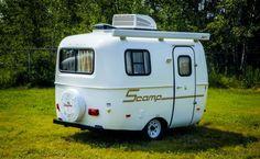 Scamp 13 Fiberglass Lightweight Travel Trailer Camper - Deluxe - Scamp Trailers