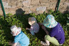 Oboustranné klobouky - jak ušít klobouk, Budilka
