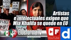Artistas e intelectuales exigen que Mia Khalifa se quede en EU