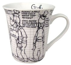 Disney Goofy Sketch Coffee Mug