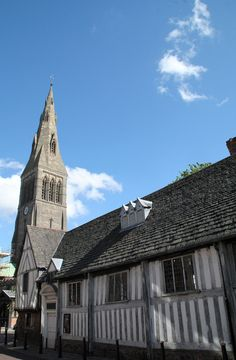 Leicester Guildhall and Cathedral, Leicestershire, England Leicester Cathedral, Genius Loci, Sense Of Place, Virtual Tour, Great Britain, England, Tours, History, Architecture
