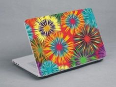 Bright flowers Bright Flowers, Yoga, Notebook Laptop, Laptop Skin, Stickers, Cover, Pattern, Products, Glitter Flowers