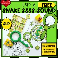Would you like a fun new way for your students to remember /s/ during speech therapy sessions? TRY THESE TARGET WORSHEETS & MAGNIFYING GLASS! Color & Black and White. Targets /s/ and /s/ blends VERY EASY TO USE! ************************************************** FOR