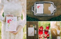 Delicate watercolors for the perfect wedding.  Wedding invitation for a perfect pair.