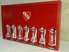 Independiente Cuadro Copas Libertadores De America - $ 360,00 en MercadoLibre