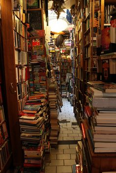 """Too Many Books""  A Good Thing....Read"