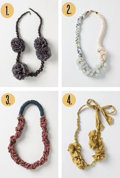 The Moptop Maven.com | The Premier Source For All Things Creative, Fly & Fashionable: DIY Goodness: Knotted & Braided Necklace