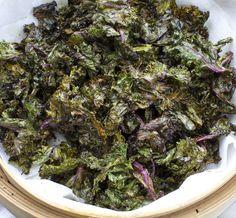 My Paleo Marin : Kale Chips Vinaigrette