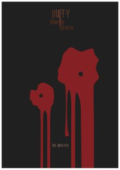 Buffy the Vampire Slayer - The Master poster - Rafa Garcia de la Mata