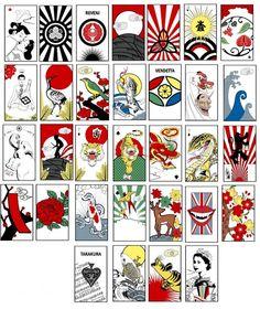 Hanafuda deck by Sean D'Anconia