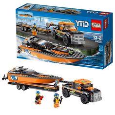Lego Внедорожник 4x4 с гоночным катером (60085)
