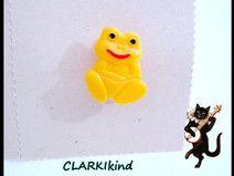 Anstecknadel DDR Frosch bei CLARKIkind