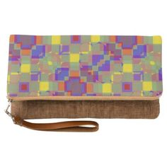 #personalize - #Nonobjective Color Pattern Clutch