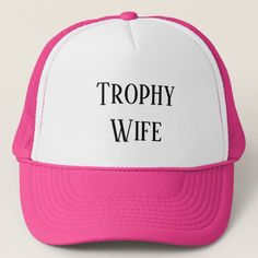Trophy Wife Baseball Cap Gifts Ideas For Friends Men Unique Christmas Her Birthday
