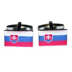 Manchetknopen Slowaakse Vlag