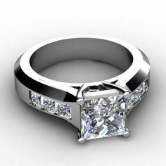 ring, engagement, diamond, cut, princess