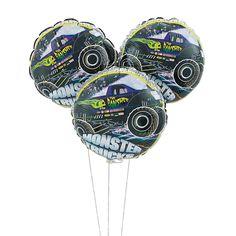 Monster Truck Mylar Balloons - OrientalTrading.com