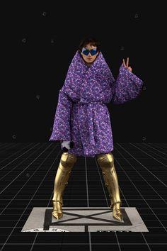 Balenciaga Fall 2021 Ready-to-Wear Fashion Show Collection: See the complete Balenciaga Fall 2021 Ready-to-Wear collection. Look 34 Fashion Week, Pop Fashion, Milan Fashion, Mens Fashion, Fashion Trends, Editorial Fashion, Runway Fashion, Vogue Paris, Age Of Tomorrow