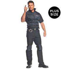 SWAT Plus Adult Costume