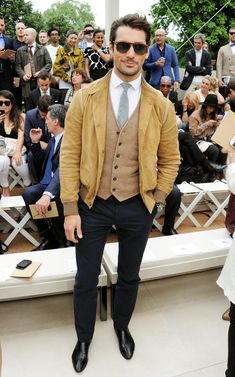 David Gandy wearing Ralph Lauren