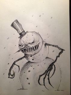 Evil Snowman by angebradley.deviantart.com on @DeviantArt
