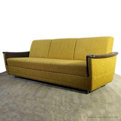 Sofá - cama vintage con su tapicería original en muy buen estado. 1950 -55. (BRD), 422 + 150 €