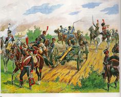 French Artillery unit