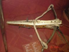 Ethnographic Arms & Armour - crossbows from the Hermitage