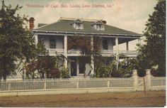 Residence of Capt Geo. Locke, Lake Charles, LA