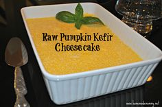 Raw Pumpkin Kefir Cheesecake!    I have made the Nourishing Traditions (page 566) all raw cheesecake before and it is delicious. This is a variation on that recipe using kefir and pumpkin and ...