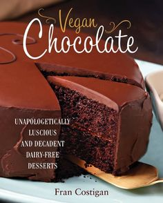 The Vegan Chocolate Torte to live for. best-ever chocolate cake made without any white sugar or palm oil shortening. Vegan Cake Recipe