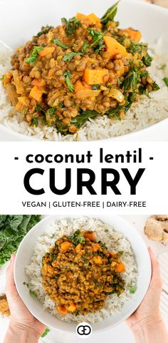 Dried Lentils, Curry Recipes, Vegetarian Recipes, Healthy Recipes, Healthy Quick Dinners, Healthy Foods, Easy Recipes, Easy Meals, Recipes