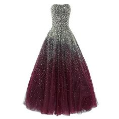 Dressesonline Womens Luxury Prom Dresses Long with Rhinestones Evening Pageant Gowns US4 *** Check out this great product. (This is an affiliate link) #fashiondresses