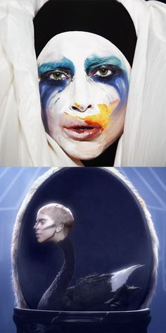 "Lady Gaga's ""Applause"" music video. You're welcome."