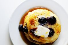 Two Tarts | Recipes and Cocktails: Ricotta Pancakes with Blueberries