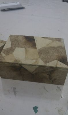 Reciclar caja madera filtros de cafe