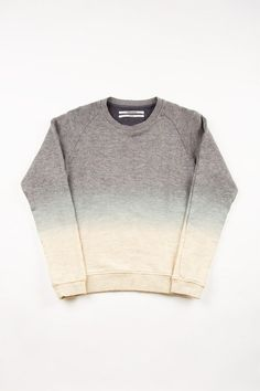 ombre sweat shirt