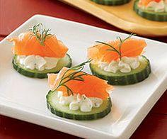 Pinchos y tapas on pinterest tapas recetas and canapes - Tapas con salmon ahumado ...