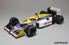 Williams FW11B  #5 Nigel Mansell  1986 Formula 1  Tamiya 1/24 Scale Model #20019  Studio27 Transkit  #TK2015C