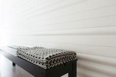 Karell Design wood panels with Muoto2015 winner, Corona by Lapuan Kankurit. Photo by Ira Launiala